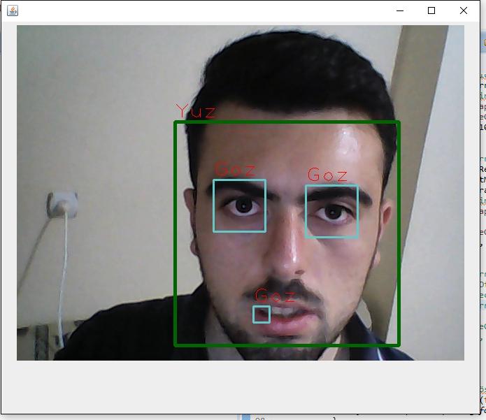 OpenCV Nesne Tespiti(Yüz ve Göz Tespiti Örneği)